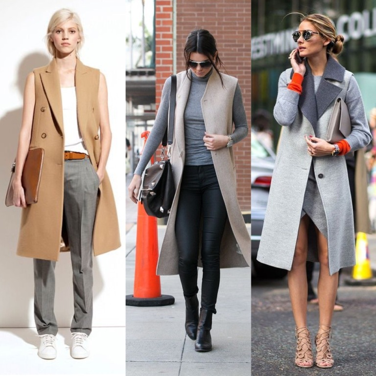 Sleeveless coats...LOOVE!!