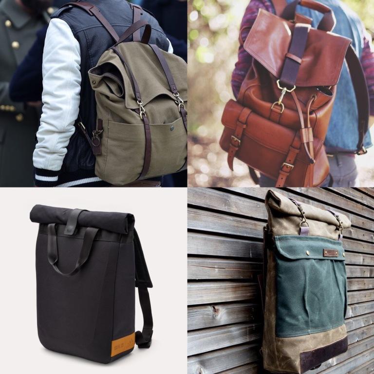 shrug a backpack