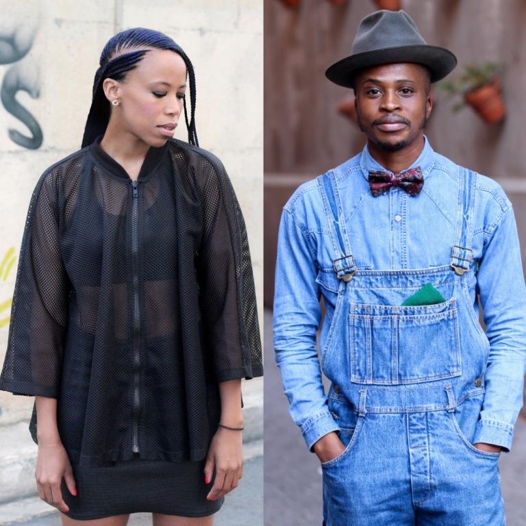 Joburg stylish individuals @bobthestylist @teeteenteta