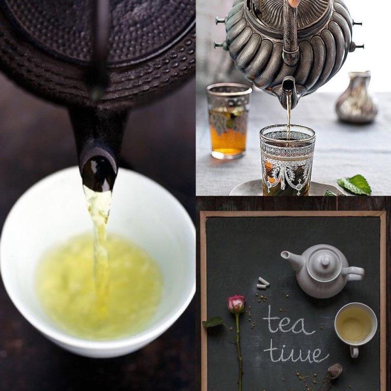 Love lives in a tea-pot...