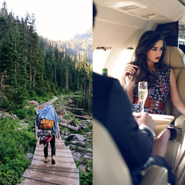 Your traveling style